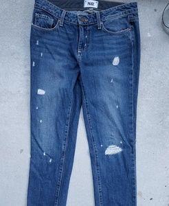Paige Denim Porter Deconstructed Jeans